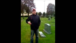 Jack Rubys gravesite at West Lawn Cemetary