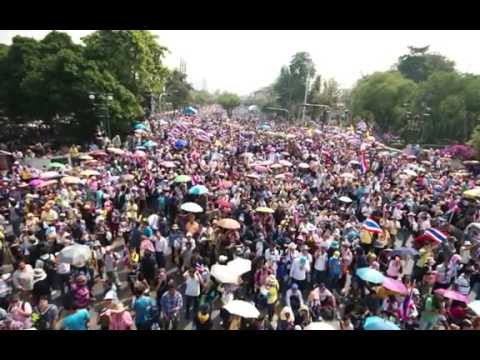 กำนันสุเทพ Thailand Protest Song Shutdown Bangkok 13 01 2014