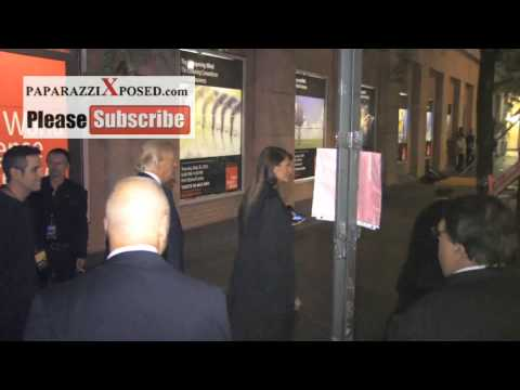Donald, Melania, Donald Trump Jr leaves All Star Celebrity Apprentice Finale in New York and talks a