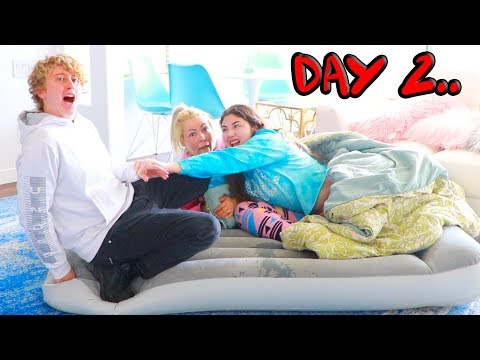 LAST TO GET OFF THE BED WINS $10,000 CHALLENGE!