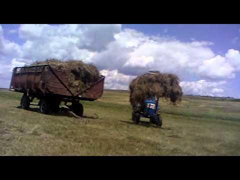 Самодельный кун на тракторе т 40 фото