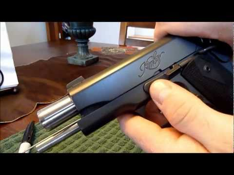 1911 Bushingless Bull Barrel Assembly / Disassembly