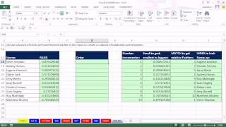 Highline Excel 2013 Class Video 33: Sorting In Excel. Excel Sort (13 Examples)