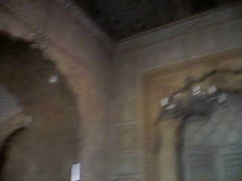 Badshahi Mosque Inside view Lahore Pakistan