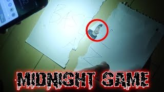 THE MIDNIGHT GAME CHALLENGE | WE FOUND SOMETHING WEIRD IN THE BASEMENT AT 3 AM