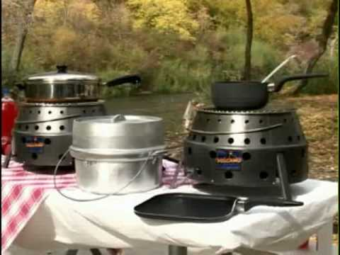 Volcano The Outdoor Cook Stoves That Can Use Propane