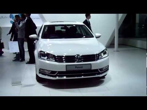 Volkswagen Passat at Auto Expo 2012, New Delhi, India