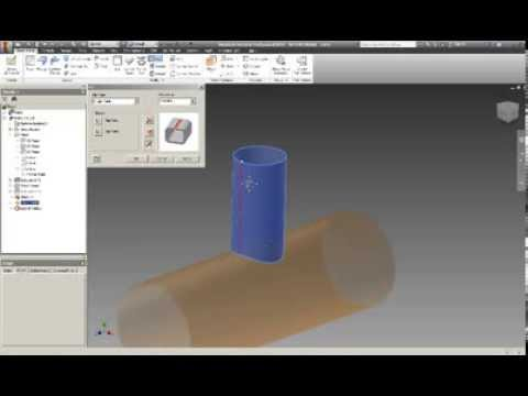 Como hacer el desarrollo de una tuberia en Autodesk Inventor Professional