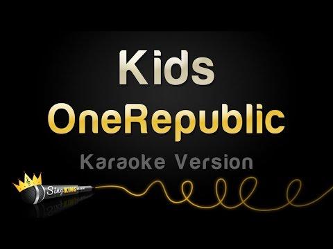 OneRepublic - Kids (Karaoke Version)