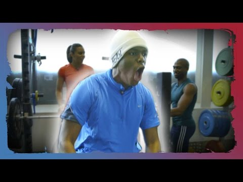 KSI Bench Press Challenge | Rule'm Commonwealth Special Image 1