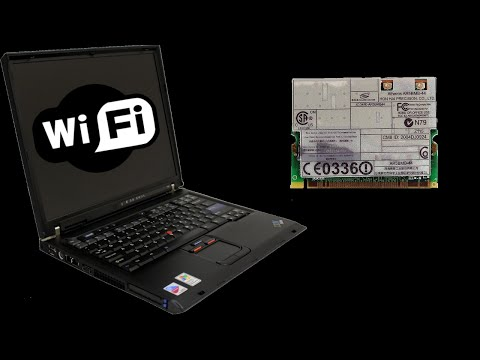 How to Replace/Upgrade Wi-Fi Card on an IBM Thinkpad T40/41/42(p)