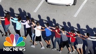 Videos Capture Terrifying Scenes Inside Florida School Shooting   NBC News