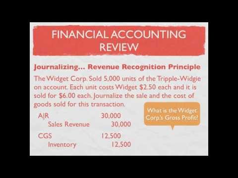 Managerial versus Financial Accounting; Accounting Equation; Accounting Principles - video