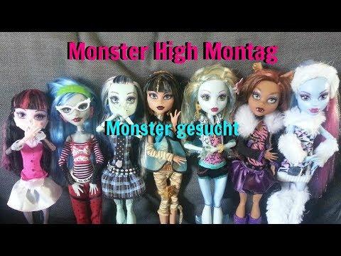 Monster High Montag [Kurz Geschichten] - Monster gesucht [HD]   Deutsch