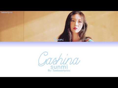 SUNMI (선미) – GASHINA (가시나) (Color Coded Lyrics) ||HAN/ROM/ENG||