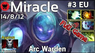 Miracle [Liquid] plays Arc Warden!!! Dota 2 Full Game 7.21