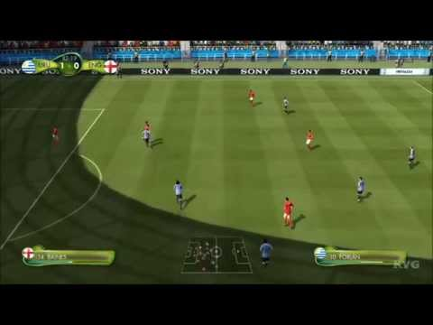 2014 FIFA World Cup Brazil - Uruguay vs England Gameplay [HD]