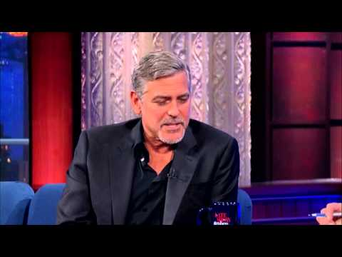 George Clooney talking about President Nasheed & Maldives