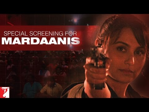 Special Screening For Mardaanis - Rani Mukerji