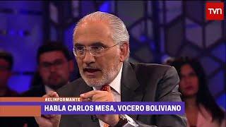 [HD] TVN Chile, El Informante: Carlos Mesa 1 de 2 (Parte Boliviana) 29/Sep/2015 #MarParaBolivia
