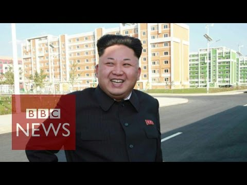 North Korea leader Kim Jong-un 'in public' - in 45 secs - BBC News