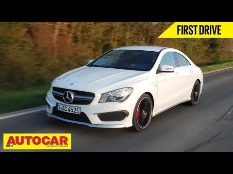 Mercedes Benz CLA 45 AMG | First Drive Video Review | Autocar India