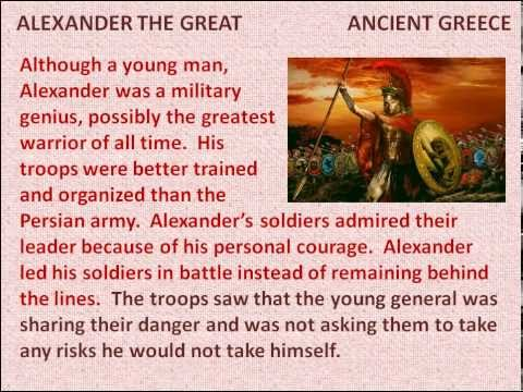 Alexander The Great - Reading Lesson For Kids video