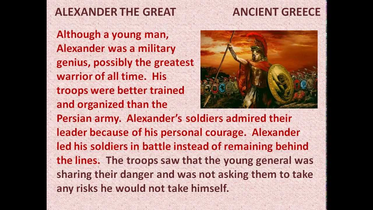 alexander the great facts kids
