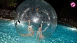 WATER BALLS in a Pool - Fun Activities for Kids & Toddlers | Our Lifestyle