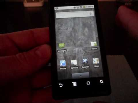 Motorola Droid - How to UNROOT your device - The EASY way!