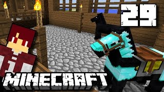 Kandang Kuda & Donkey! - Minecraft Survival Indonesia #29
