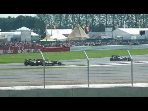 F1 GP Silverstone 2012 - View from Woodcote A