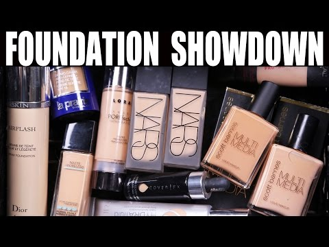 FOUNDATION (OBSESSIONS) SHOWDOWN | Favorites and why ...