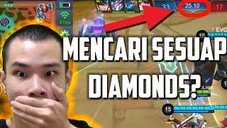 MENCARI SESUAP DIAMONDS? HAHAHA