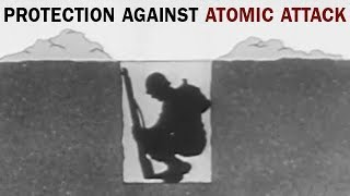 Individual Protection Against Atomic Attack | US Army Training Film | 1957