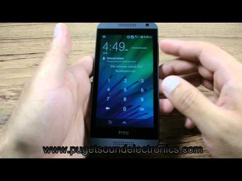 How To Unlock At&t HTC Desire 610