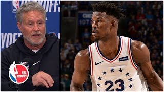 Jimmy Butler 'stamped his authority' in the 76ers' Game 6 win - Brett Brown | 2019 NBA Playoffs