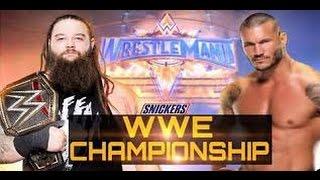 Randy Orton vs Bray Wyatt - Wrestlemania 33 Highlights - WWE Championship HD