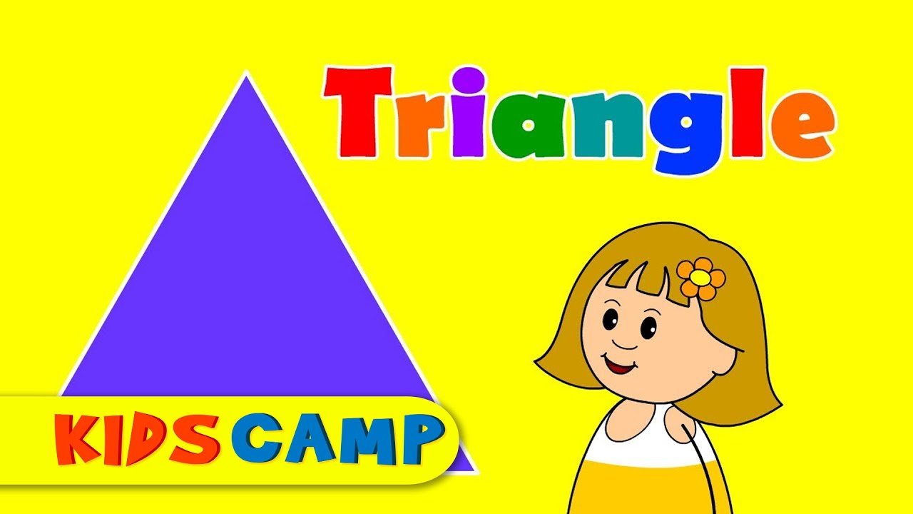 Triangles Teach Amp Learn Shapes For Kids Youtube