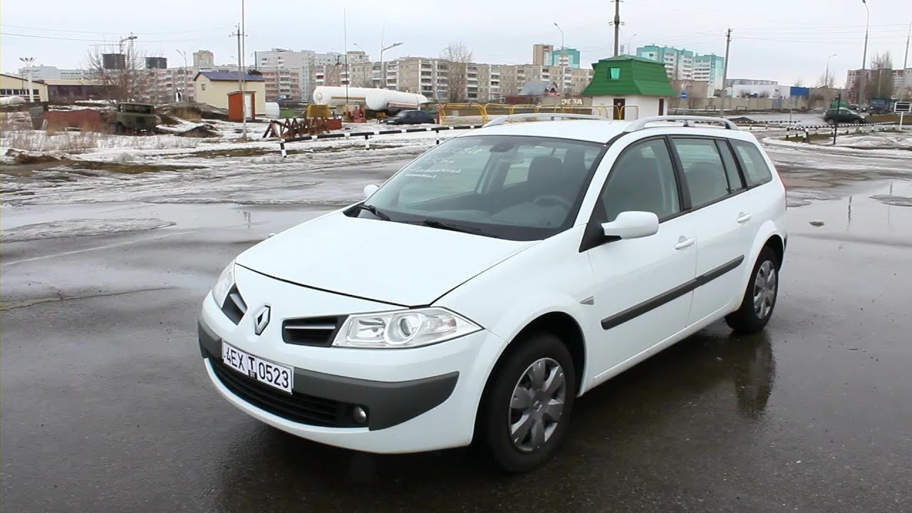 2008 renault megane grandtour ii start up engine and in depth tour youtube. Black Bedroom Furniture Sets. Home Design Ideas