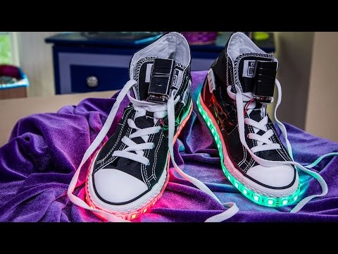 Home & Family - DIY Light Up Shoes