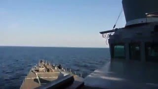 The provocation of the Russian Sukhoi Su 24 against US destroyers