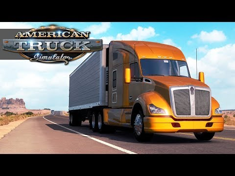 American Truck Simulator #1: Learning To Drive! [Live Stream Archive]