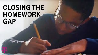 Closing the Homework Gap - Project 10Million | New T-Mobile