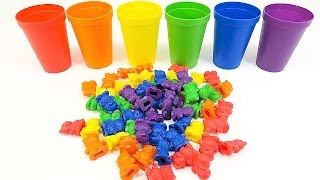 Learn Colors for Kids with Colorful Bears!