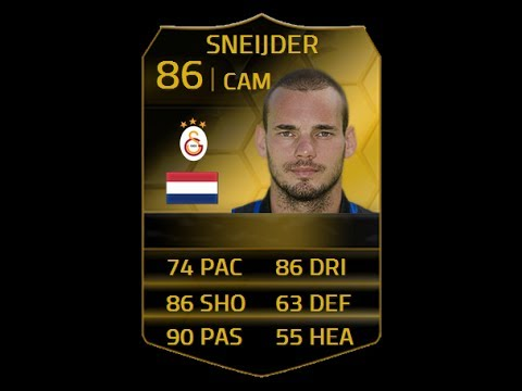 FIFA 14 SIF SNEIJDER 86 Player Review & In Game Stats Ultimate Team