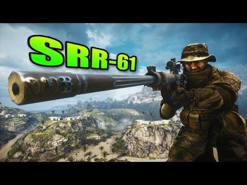 Battlefield 4 - Sniper Sunday SRR-61 Intervention Best Sniper Rifle?