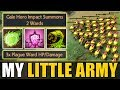 Insane Plague Ward Cooldown [Little Push Army] Bad Juju IMBA | Dota 2 Ability Draft