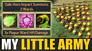 Insane Plague Ward Cooldown [Little Push Army] Bad Juju IMBA | Dota 2 Ability Draft