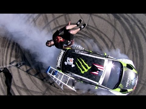 DC SHOES: THE STORY BEHIND KEN BLOCK S LADDER TRICKS